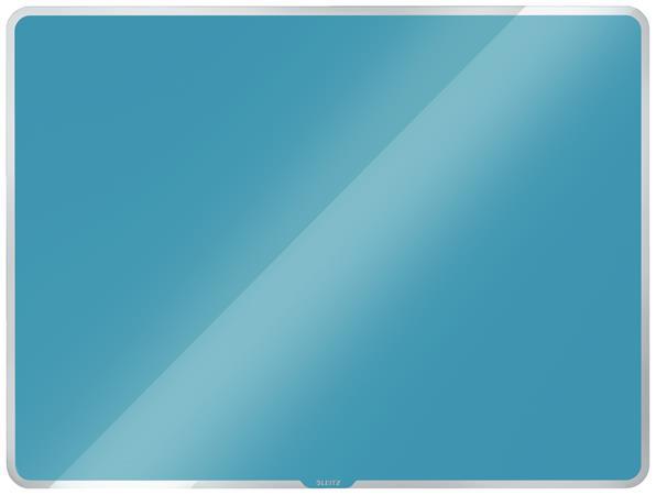 Mágneses üvegtábla, 60x40 cm, LEITZ