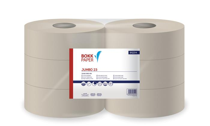 Toalettpapír, 1 rétegű, nagytekercses, 23 cm átmérő, LUCART,