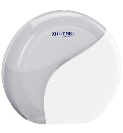 Toalettpapír adagoló, 26x24x13 cm, LUCART,