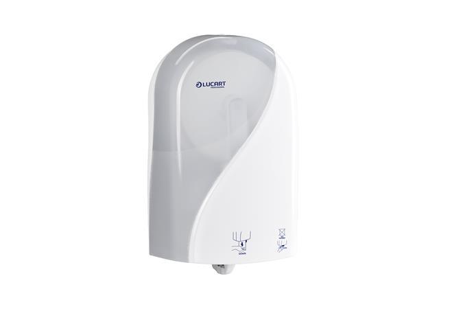 Toalettpapír adagoló, automata, 38,5x15,3x23 cm,LUCART