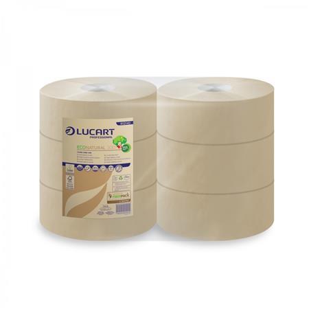 Toalettpapír, 2 rétegű, nagytekercses, 24,5 cm átmérő, LUCART