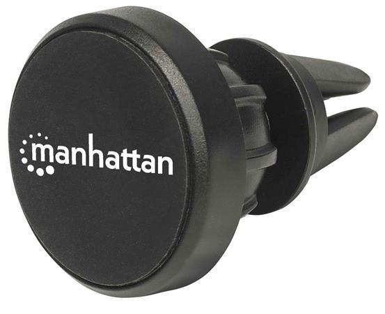 Autós telefontartó, szellőzőre, mágneses, MANHATTAN