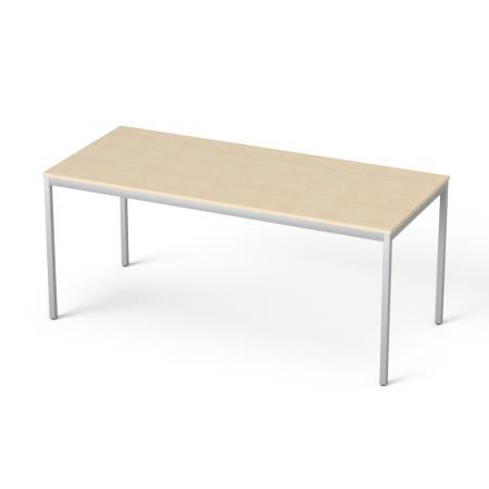 Általános asztal fémlábbal, 75x170 cm, MAYAH
