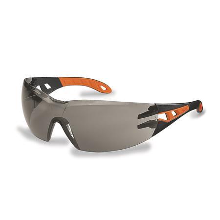 Védőszeműveg, füstszínű lencse, UVEX,