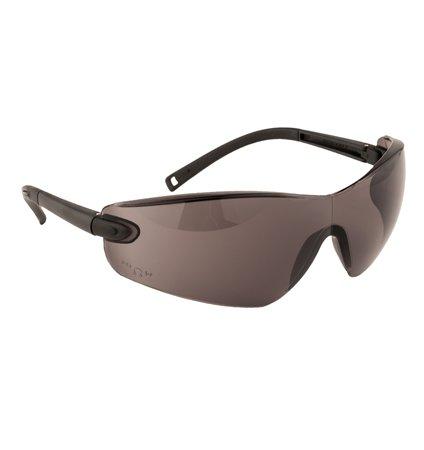 Védőszemüveg, sötétített,