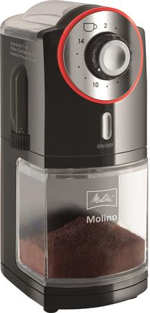 Kávédaráló, 200 g őrölt kávé kapacitás, MELITTA
