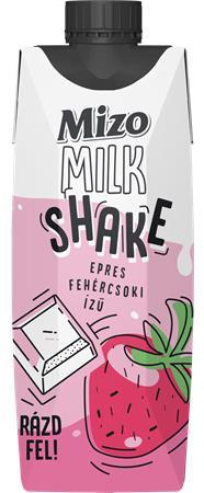 Milk Shake, 0,315 l, MIZO, epres fehércsoki