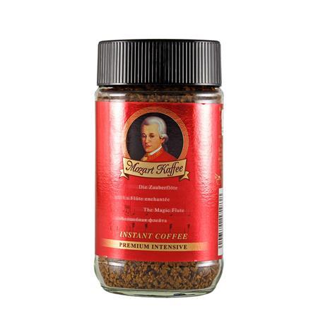 Instant kávé, 100 g, üveges, MOZART