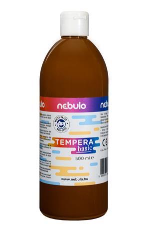 Tempera, 500 ml, NEBULO, barna