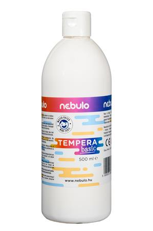 Tempera, 500 ml, NEBULO, fehér