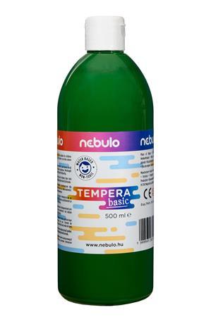 Tempera, 500 ml, NEBULO, zöld
