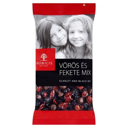 Aszalt gyümölcs és étcsokoládé, 100 g, NOBILIS