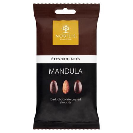 Mandula, 100 g, NOBILIS, étcsokoládés