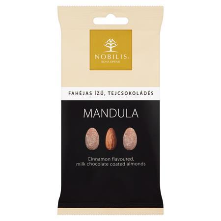 Mandula, 100 g, NOBILIS, fahéjas-tejcsokoládés