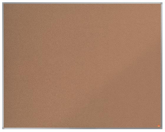 Parafatábla, 150x120 cm, alumínium keret, NOBO
