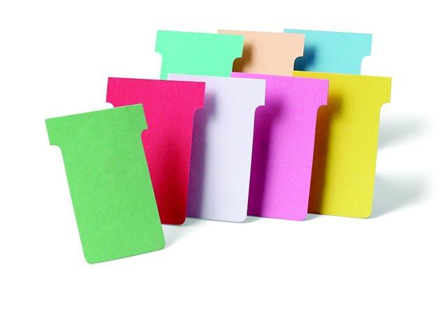 T-kártya tervezőtáblához, 2-es méret, NOBO, rózsaszín