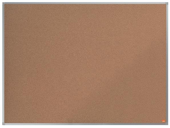 Parafatábla, 90x60 cm, alumínium keret, NOBO