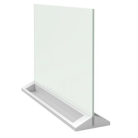 Asztali üvegtábla, kétoldalas,  NOBO