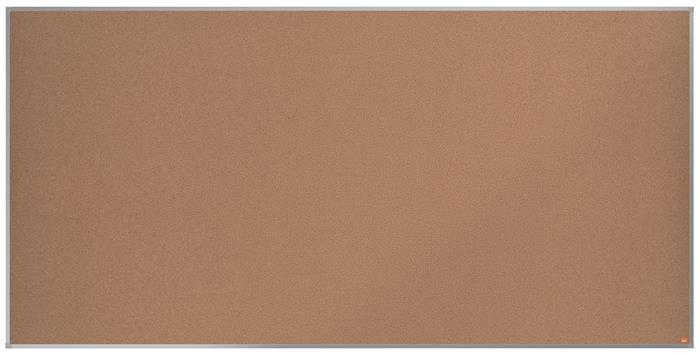 Parafatábla, 240x120 cm, alumínium keret, NOBO