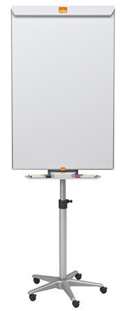 Flipchart tábla, mobil, NanoClean™ felületű, mágneses felület, NOBO