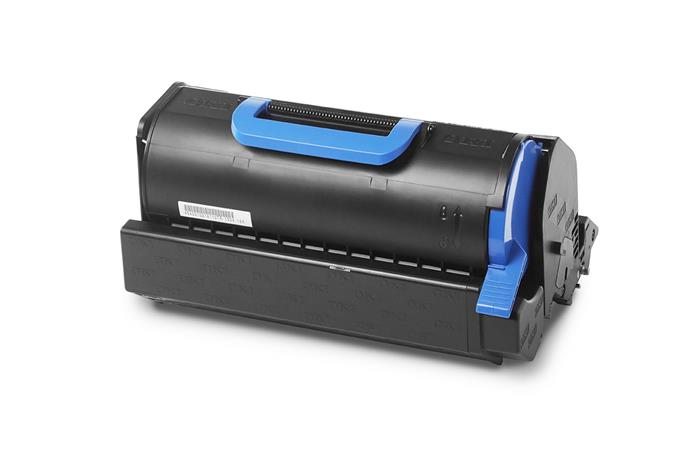 45488802 Lézertoner B721, MB760 nyomtatókhoz, OKI, fekete, 18k