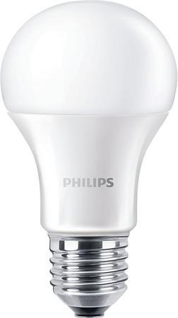 LED izzó, E27, gömb, A60, 12.5W, 1521lm, 6500K, PHILIPS