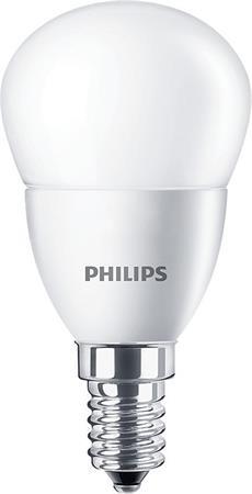 LED izzó, E14, kis gömb, P45, 3.5W, 290lm, 4000K, PHILIPS