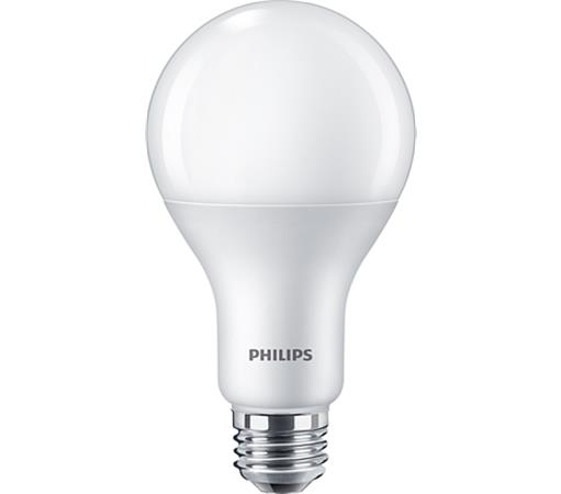LED, izzó, E27, gömb, 19,5W, 2500lm, 2700K, A80, PHILIPS