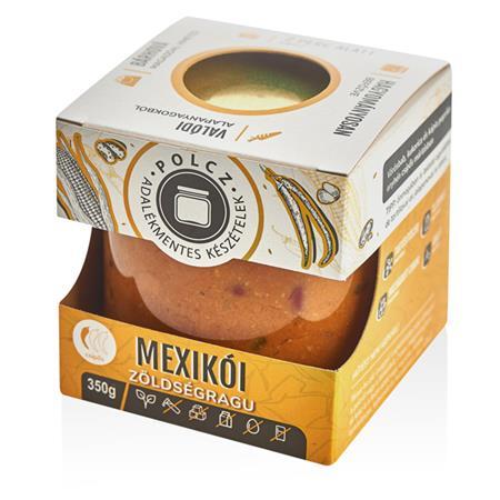 Készétel, adalékmentes, 350 g, POLCZ, mexikói zöldségragu