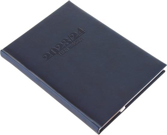 Tanári zsebkönyv, A5, heti, REALSYSTEM, sötétkék