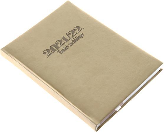 Tanári zsebkönyv, A5, heti, REALSYSTEM, drapp