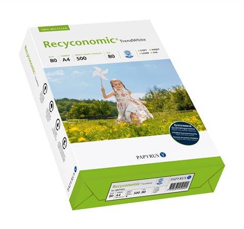 Másolópapír, újrahasznosított, A3, 80 g, RECYCONOMIC