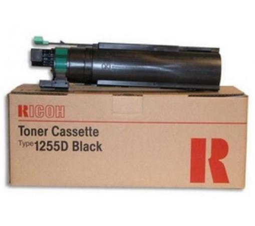 411073 Fénymásolótoner Aficio 120, FX-12 fénymásolókhoz, RICOH, Type 1255D, fekete, 7k
