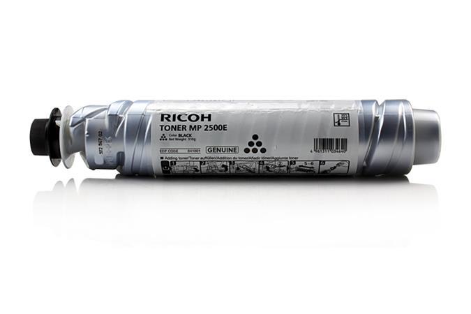 841040/841001 Lézertoner Aficio MP 2500/MP 2500E nyomtatóhoz, RICOH, fekete, 10,5k