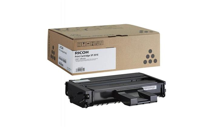 407999 Lézertoner SP201N, SP211, SP213w, SP203S, SP204SN nyomtatókhoz, Ricoh SP201E fekete, 1K