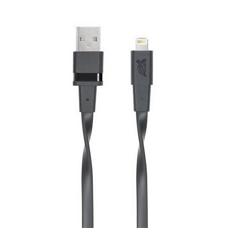 USB kábel, USB-Lightning, 1,2m, RIVACASE
