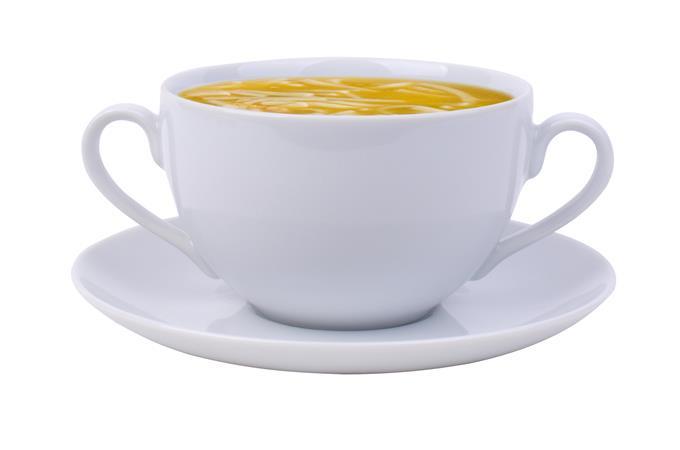 Leveses csésze+alj, ROTBERG, fehér, 35 cl, 6 db-os szett