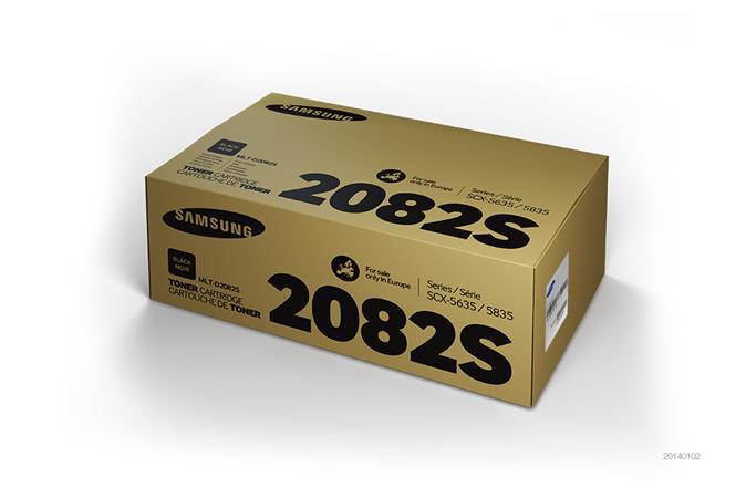 MLT-D2082S Lézertoner SCX 5835FN nyomtatóhoz, SAMSUNG fekete, 4k