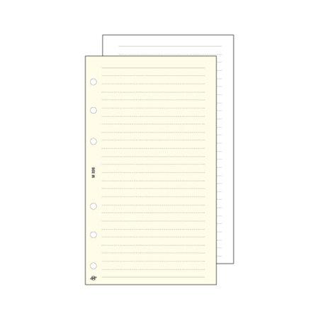 Kalendárium betét, jegyzetlap,