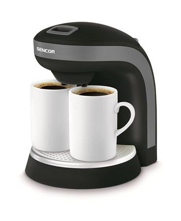 Kávéfőző, filteres, SENCOR,  fekete