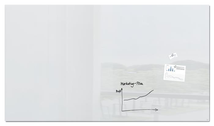Mágneses üvegtábla,240x120 cm, SIGEL