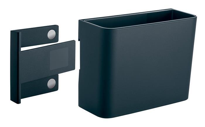 Írószertartó pohár, 12x9,4x5,1 cm, SIGEL,