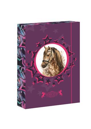 Füzetbox, A4, Horse Star-Jumbo