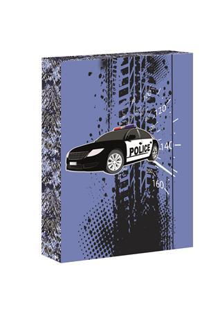 Füzetbox, A4, Police 2-Jumbo