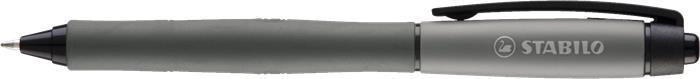 Zseléstoll, 0,4 mm, nyomógombos, STABILO
