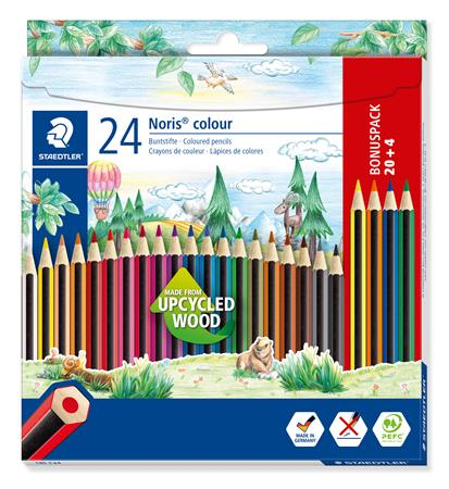 Színes ceruza készlet, hatszögletű, STAEDTLER
