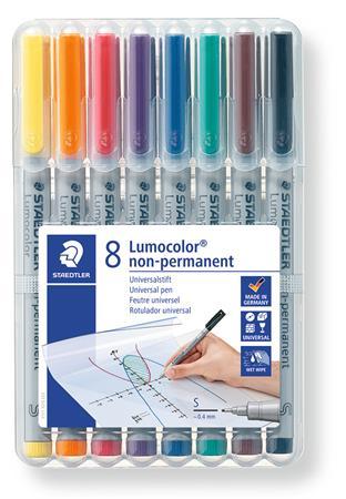 Alkoholmentes marker készlet, OHP, 0,4 mm, STAEDTLER