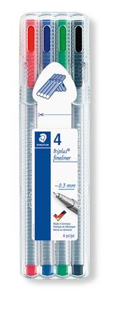 Tűfilc készlet, 0,3 mm, STAEDTLER
