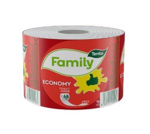 Toalettpapír, 2 rétegű, 36 tekercses, TENTO