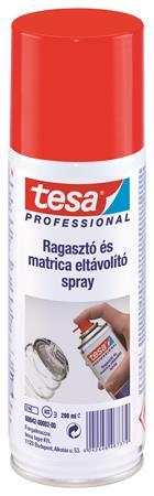 Ragasztó- és matricaeltávolító spray, 200 ml, TESA